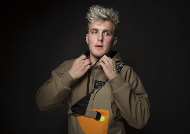 In this Jan. 22, 2017, file photo, Jake Paul poses for a portrait at the Music Lodge during the Sundance Film Festival oin Park City, Utah. Paul announced on July 22, 2017, that he was leaving the Disney Channel series Bizaardvark.
