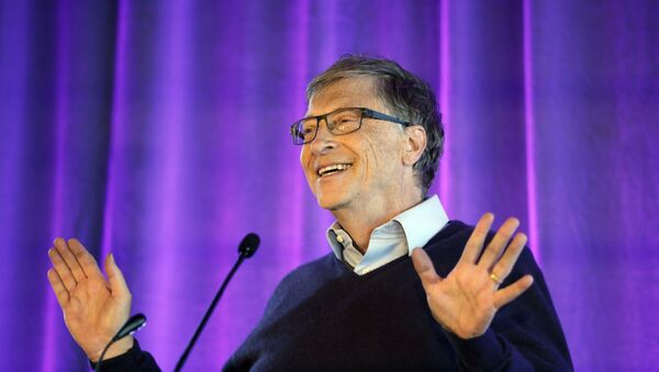Microsoft co-founder Bill Gates speaks at the opening of the Bill & Melinda Gates Center for Computer Science and Engineering at the University of Washington, 28 February 2019, in Seattle - Sputnik International