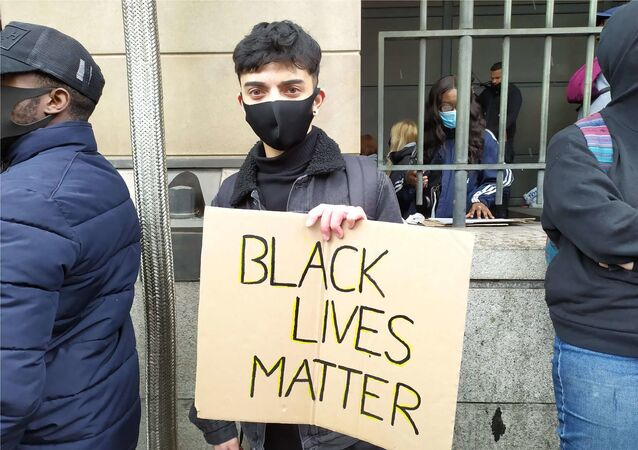 Saif, 19, a student at University of Westminster, from South London