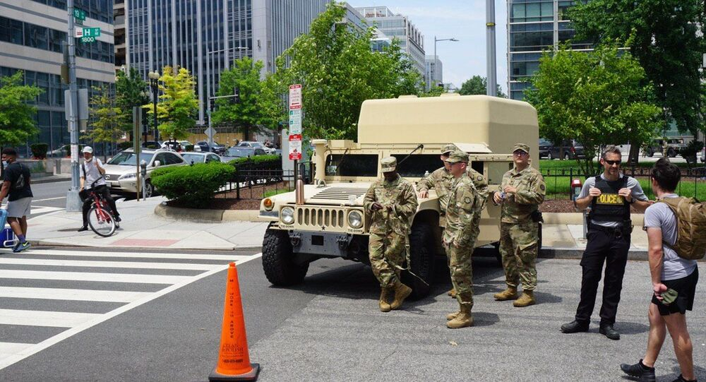 National Guard Troops Activated To Protect Monuments In Washington, DC