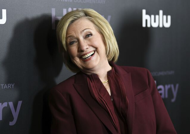 Former secretary of state Hillary Clinton attends the premiere of the Hulu documentary Hillary at the DGA New York Theater on Wednesday, March 4, 2020, in New York.