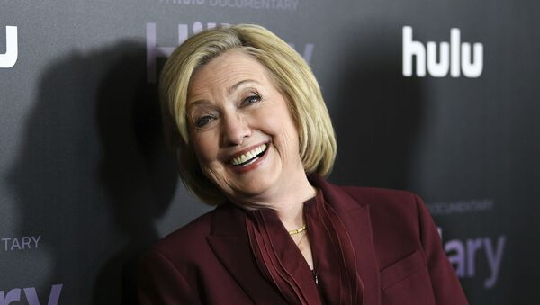 Former secretary of state Hillary Clinton attends the premiere of the Hulu documentary Hillary at the DGA New York Theater on Wednesday, March 4, 2020, in New York. - Sputnik International