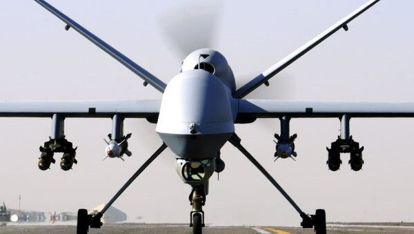 A RAF Reaper UAV - Sputnik International