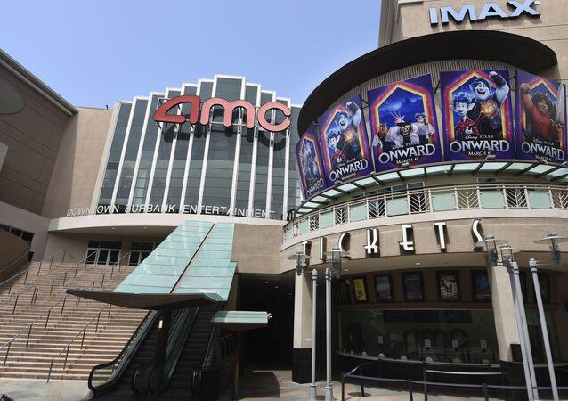 AMC Burbank 16 movie theatres complex in Burbank, California