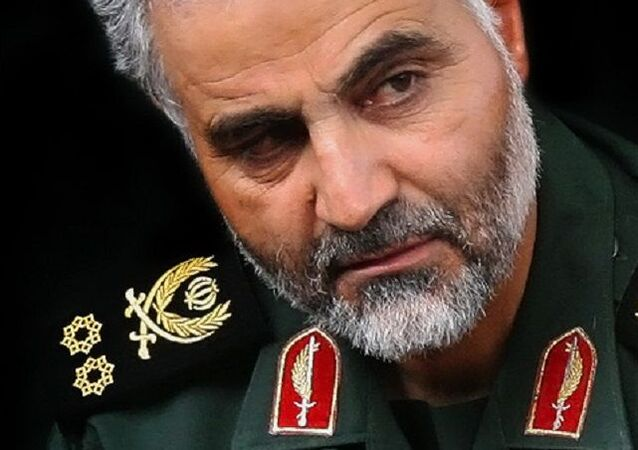 Qasem Soleimani - commander of Quds Force of Army of the Guardians of the Islamic Revolution (IRGC)