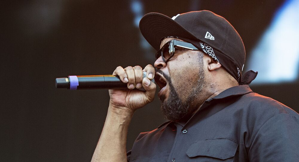 Ice Cube, also known as O'Shea Jackson, performs during Louder Than Life at Highland Festival Grounds at KY Expo Center on Saturday, Sept. 28, 2019, in Louisville, Ky