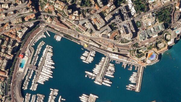 Circuit de Monaco, April 1, 2018 SkySat (cropped) - Sputnik International