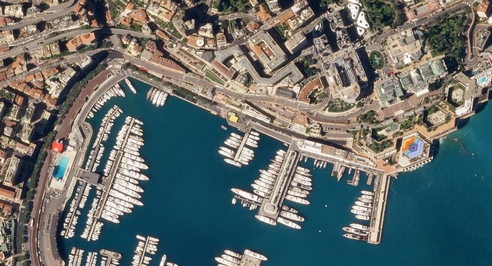 Circuit de Monaco, April 1, 2018 SkySat (cropped)