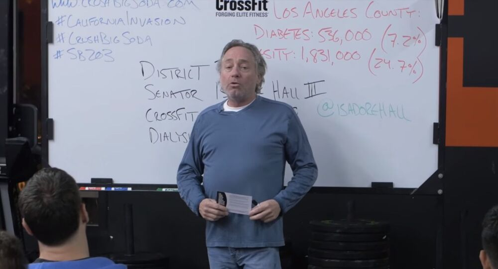 Former CEO and founder of CrossFit, Greg Glassman