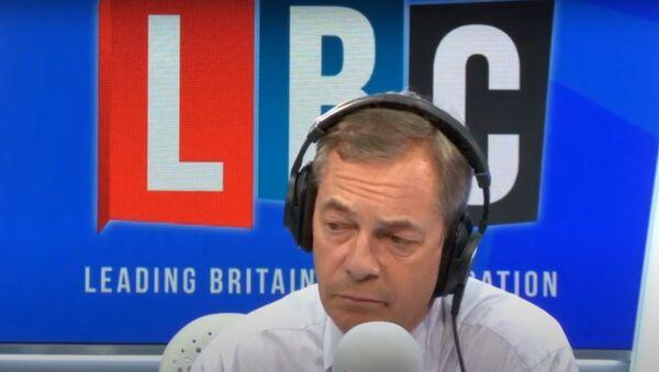 Nigel Farage owned by a caller on LBC - Sputnik International