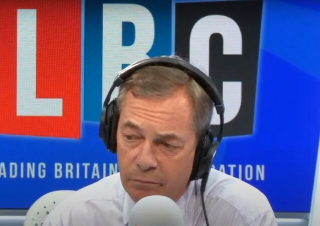 Nigel Farage owned by a caller on LBC