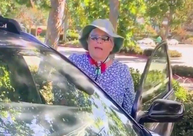 A Torrance, California, resident is caught on two videos initiating threatening, racially-charged verbal attacks against Asian parkgoers.