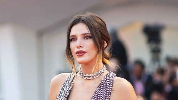 Actress Bella Thorne poses for photographers upon arrival at the premiere of the film 'Joker' at the 76th edition of the Venice Film Festival, Venice, Italy, 31 August 2019 - Sputnik International