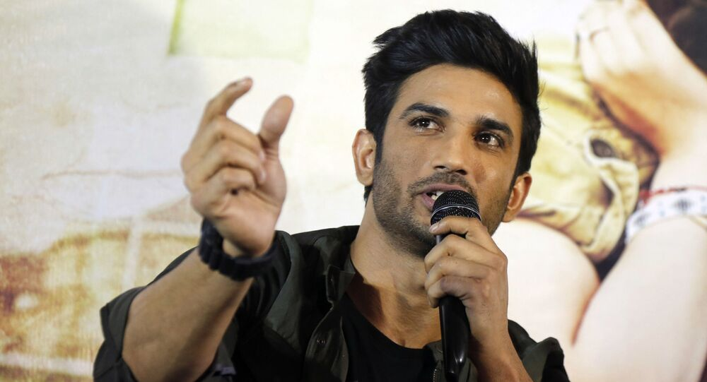 Bollywood actor Sushant Singh Rajput speaks during a press conference to promote his upcoming movie Raabta in Ahmadabad, India, Tuesday, 30 May 2017.