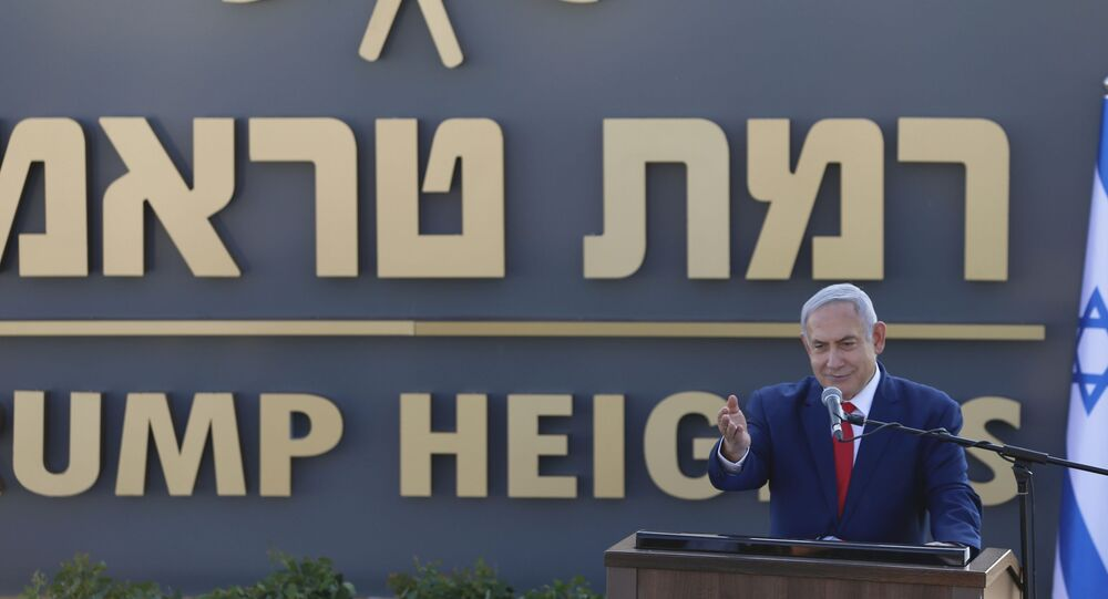 Netanyahu Announces 'Practical Steps' Towards Building Golan Heights Settlements Named After Trump
