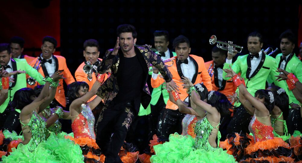 FILE PHOTO: Actor Sushant Singh Rajput performs (C) at the International Indian Film Academy Awards (IIFA) show at MetLife Stadium in East Rutherford, New Jersey, U.S., July 15, 2017
