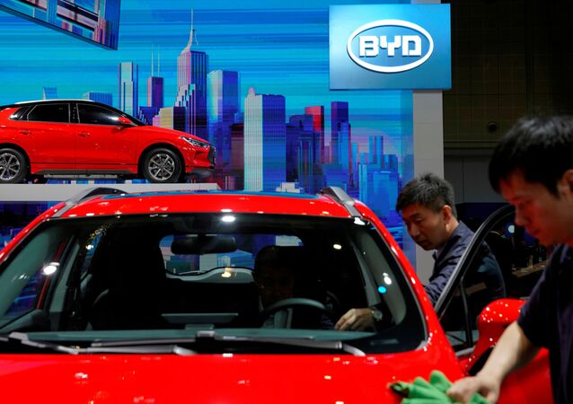 BYD electric vehicle