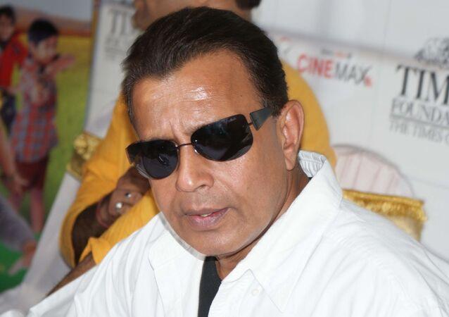 Bollywood (Hindi film) actor Mithun Chakraborty at Zor Laga Ke Haiya event in Cinemax, Andheri West, Mumbai.