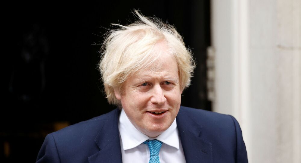Britain's Prime Minister Boris Johnson leaves Downing Street in London, Britain, June 16, 2020