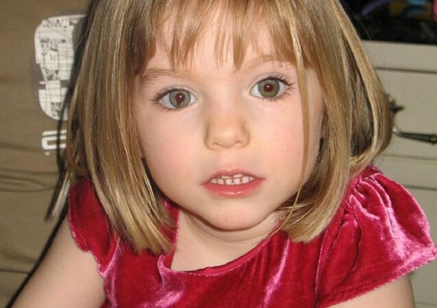 An undated handout photograph released by the Metropolitan Police in London on June 3, 2020, shows Madeleine McCann who disappeared in Praia da Luz, Portugal on May 3, 2007