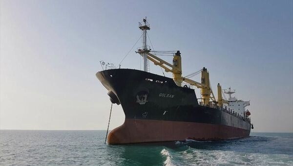 Golsan vessel. File photo. - Sputnik International