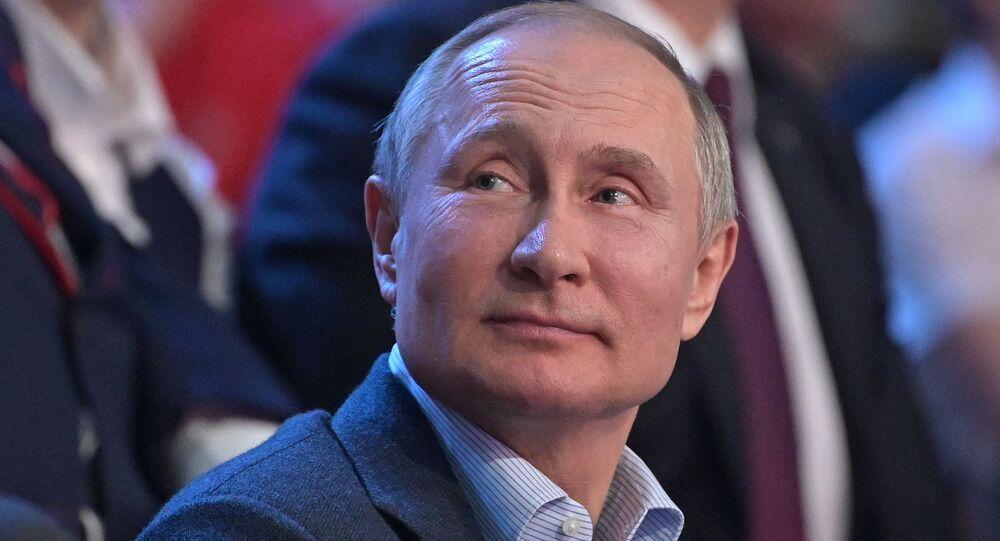 Vladimir Putin during his trip to Sochi