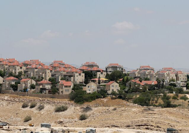 A view shows the Israeli settlement of Maale Adumim in the Israeli-occupied West Bank, June 15, 2020.
