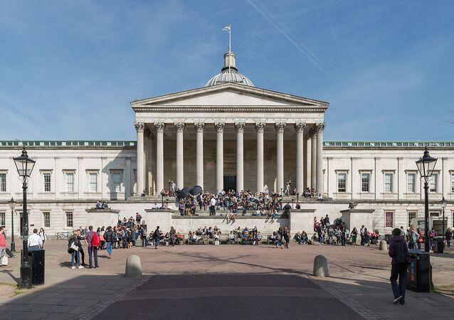 The Wilkins Building, University College London, Gower Street, Bloomsbury, London, England