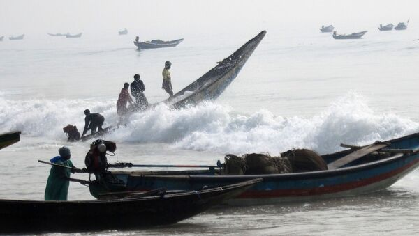 Indian  fishermen - Sputnik International