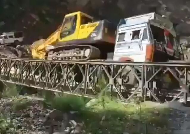 Border road work impacted due to the collapse of this belly bridge in Pitthoragarh Uttarakhand