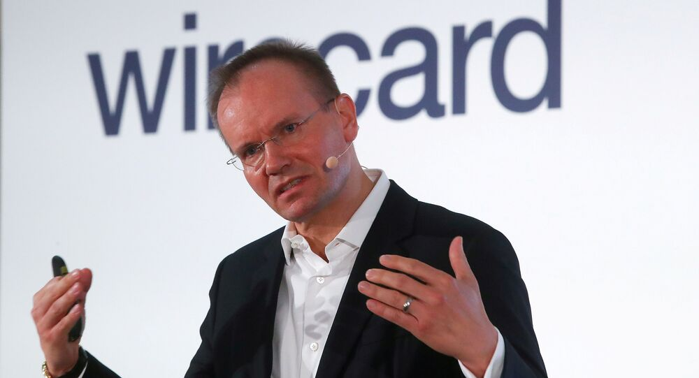Markus Braun, CEO of Wirecard AG, an independent provider of outsourcing and white label solutions for electronic payment transactions attends the company's annual news conference in Aschheim near Munich, Germany April 25, 2019
