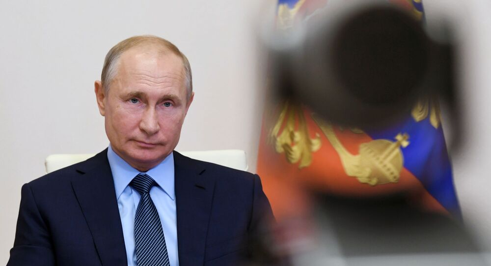 Putin Calls on Russians to Take Part in Vote on Constitutional Amendments