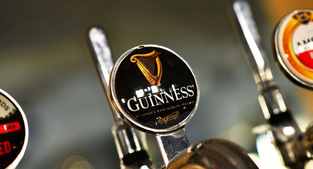 A Guinness beer tap is seen inside The Greenwich Pensioner pub, which was closed to slow the spread of the coronavirus disease (COVID-19), London, Britain, May 21, 2020. Picture taken May 21, 2020