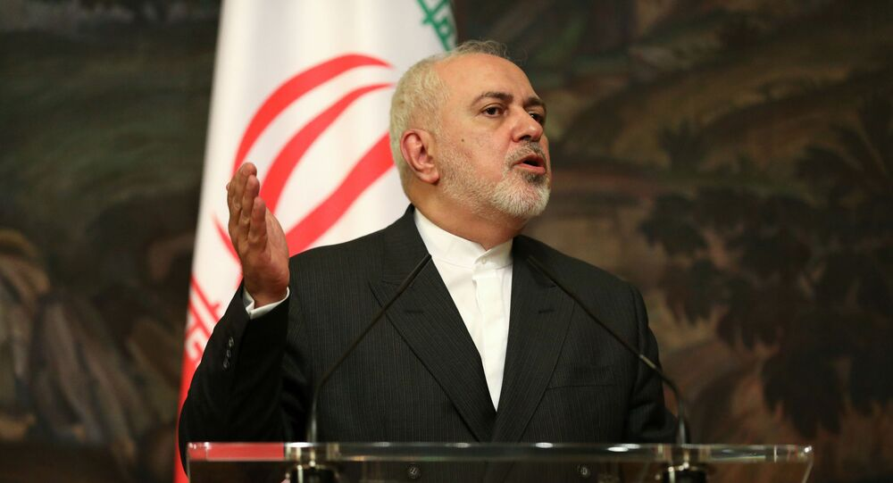 Iran's Foreign Minister Mohammad Javad Zarif in Moscow