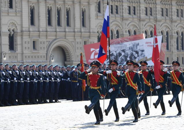 Military parade to mark the 75th anniversary of WWII Victory in Moscow
