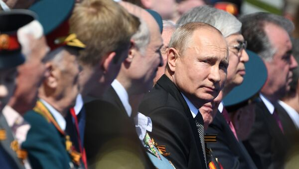 Russian President Vladimir Putin attends a military parade to mark the 75th anniversary of Victory in the Great Patriotic War - Sputnik International