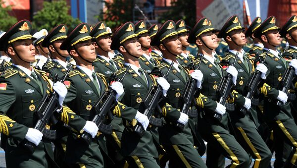 Chinese People's Liberation Army marches through Red Square during a military parade to mark the 75th anniversary of Victory in the Great Patriotic War of 1941-1945 - Sputnik International