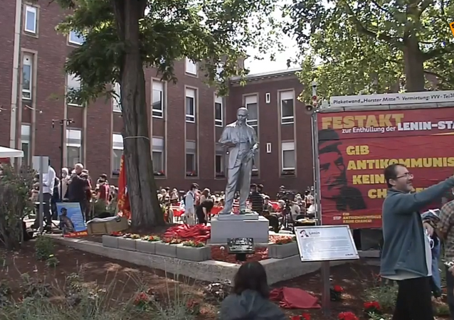 Inauguration of Lenin Statue in Germany's Ruhr Region
