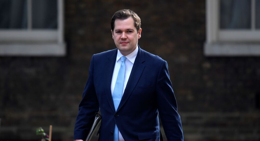 Secretary of State for Housing, Communities and Local Government Robert Jenrick arrives on Downing Street, following the outbreak of the coronavirus disease (COVID-19), London, Britain, June 9, 2020