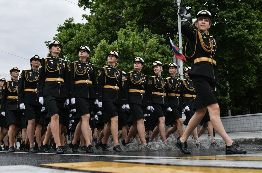 Military parade to commemorate the 75th anniversary of Victory in World War II