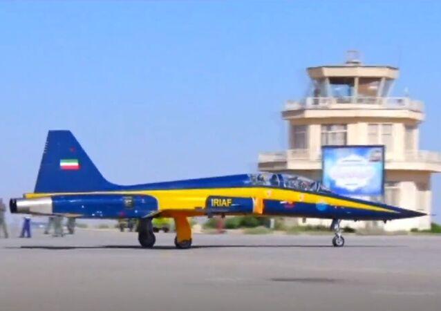 Iran's Kowsar fighter jet