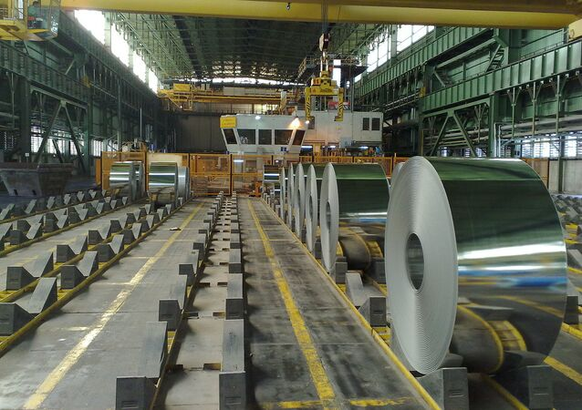 Foolad Mobarakeh Steel Mill. Isfahan