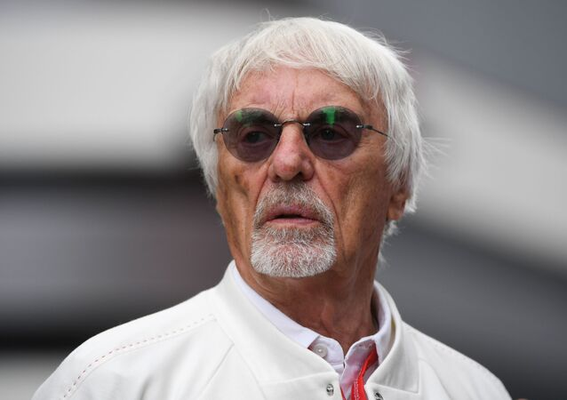 Chairman Emeritus of the Formula One Group Bernie Ecclestone