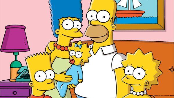 The Simpsons family - Sputnik International