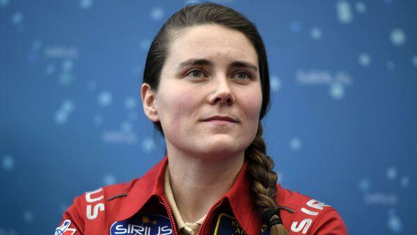 Russian cosmonaut Anna Kikina - Sputnik International