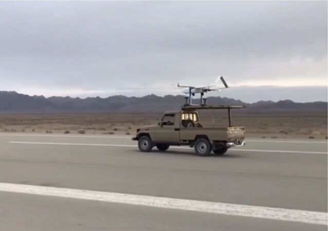 Islamic Revolution Guards Corps reveal their new Me'raj-1 drone