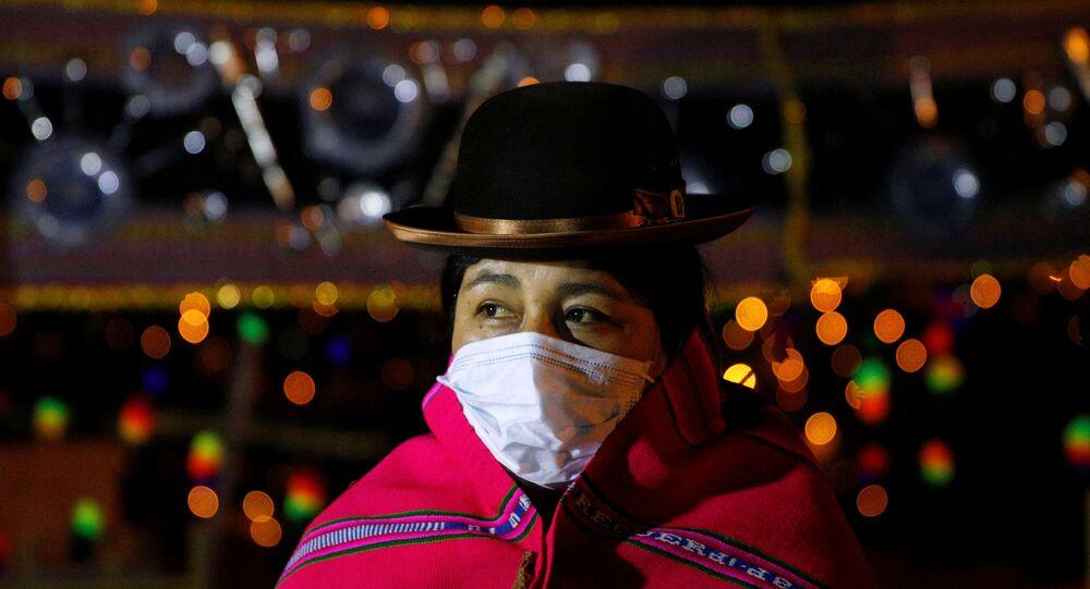 Indiginous groups Aymara New Year Bolivia