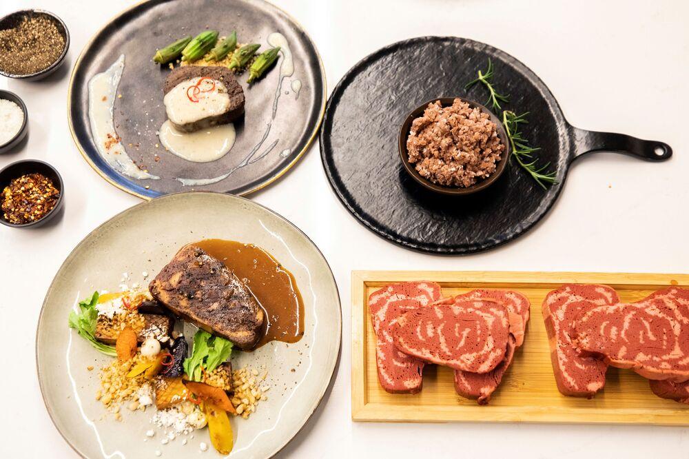 3D Printed Vegan Steak Coming to Market in 2021