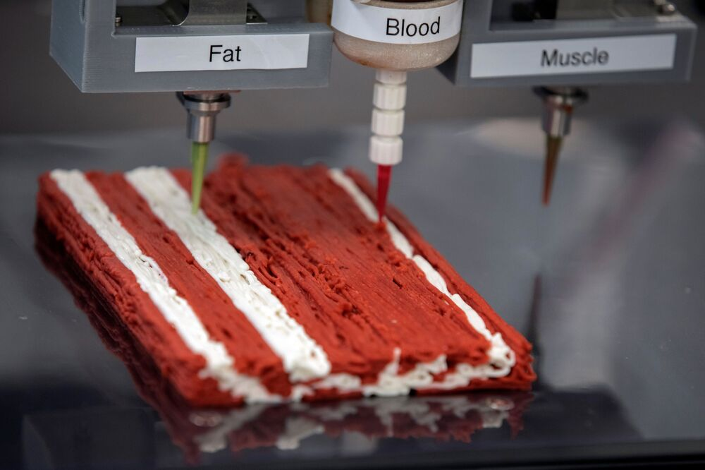 Future on Your Plate: Meet 3D-Printed Meat