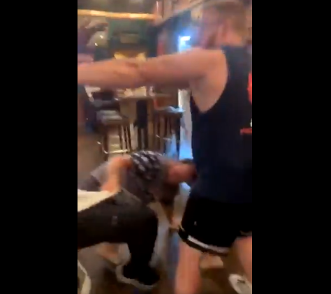 Massive Brawl Erupts in US Bar Over Social Distancing Guidelines
